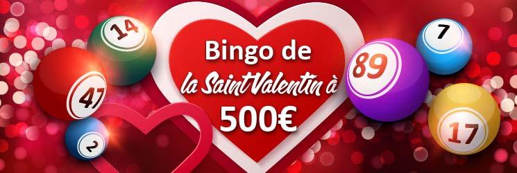 bingo saint valentin